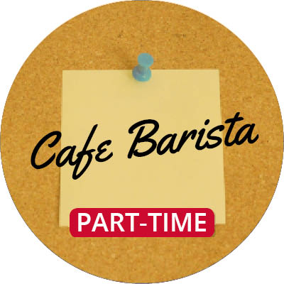 Cafe Barista (Part-Time)