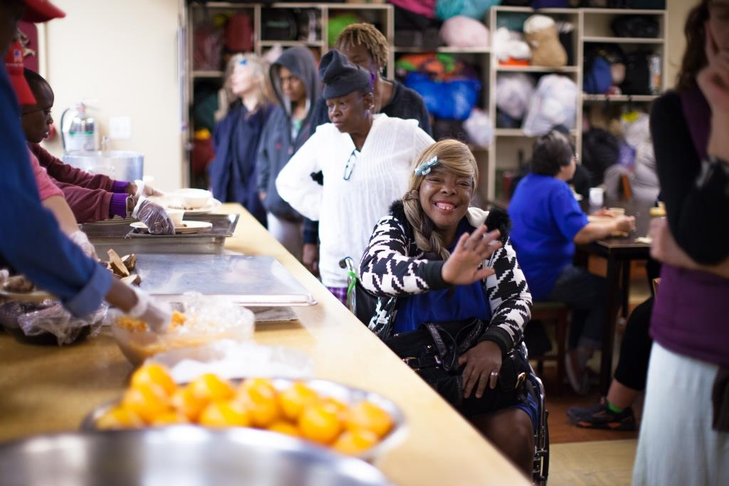 Our Day Center is open every day in the heart of Skid Row!