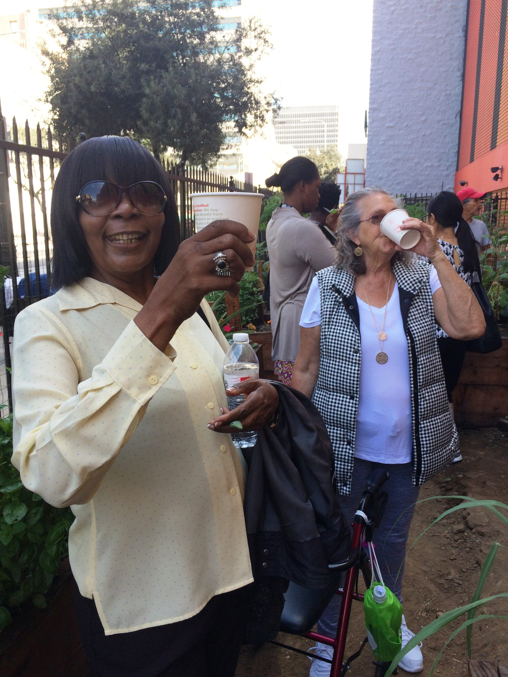Women of Skid Row project