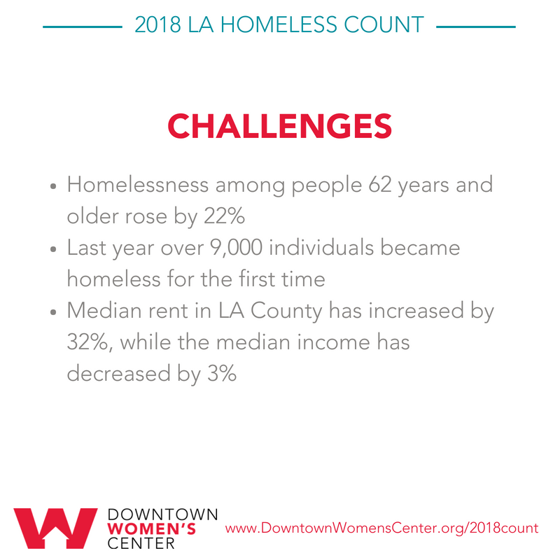 2018 Homeless Count - Challenges